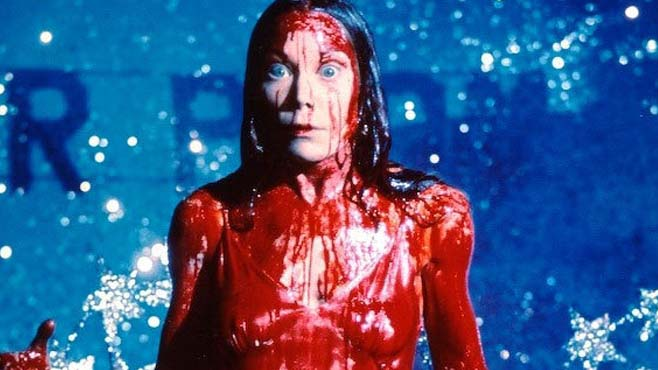 """It Has Nothing To Do With Satan, Mama. It's Me,"" Carrie White character in film ""Carrie."""