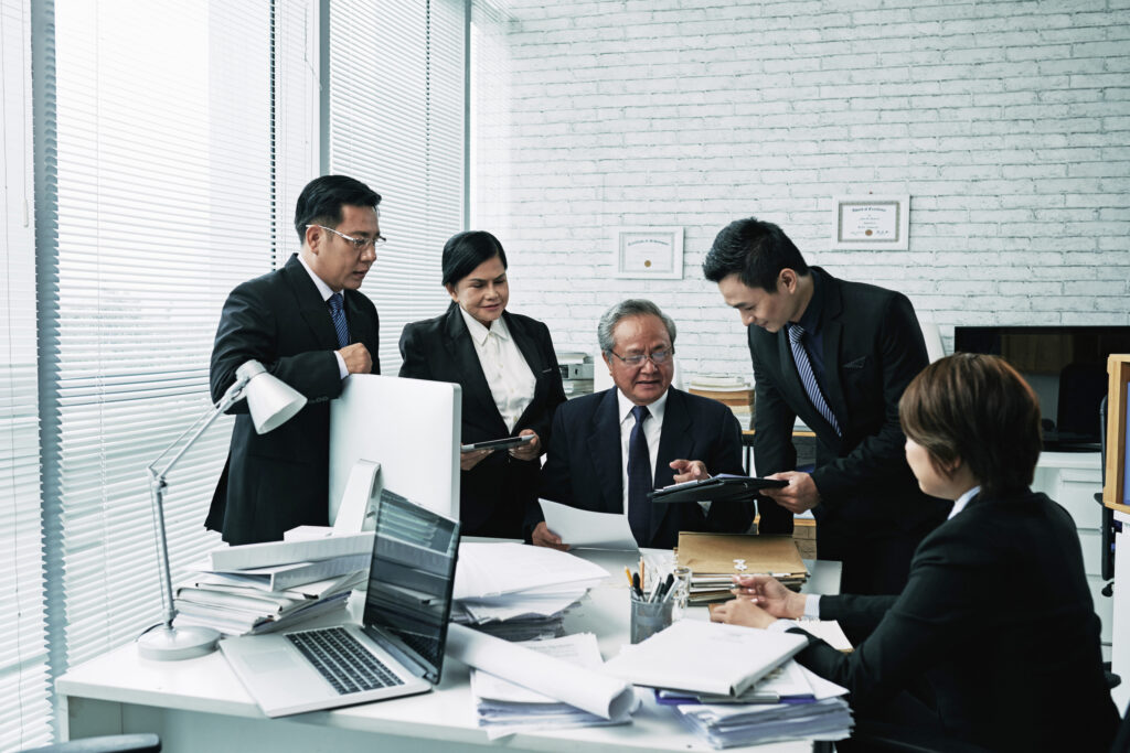 types of business ownership - business meeting - Inland Empire business attorneys
