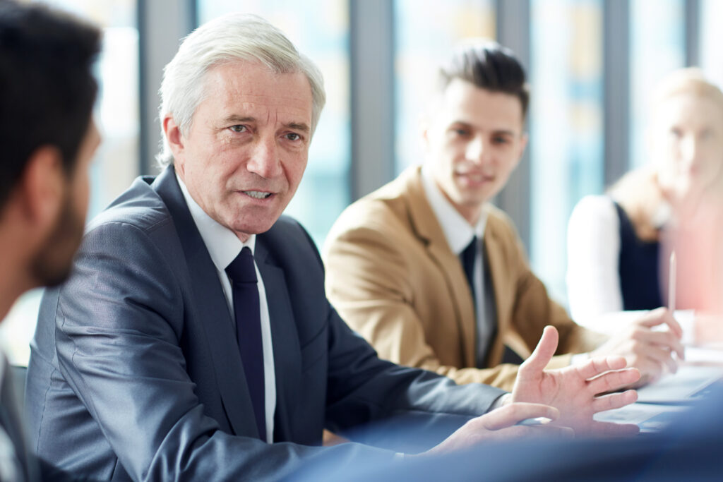 business meeting - California business lawyer
