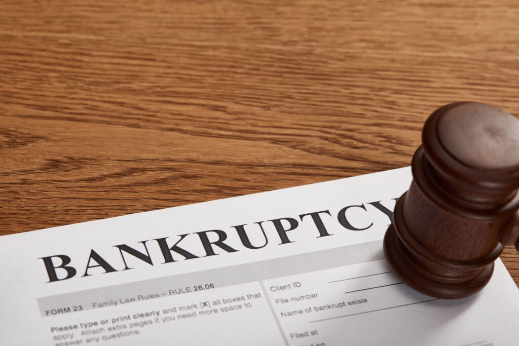 filing bankruptcy and debt relief - Riverside bankruptcy lawyer
